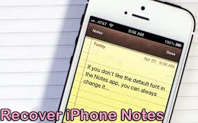 A pleted Guide to iPhone Notes Recovery