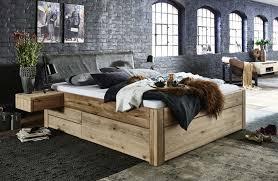 bett schubkastenbett kiefer gelaugt geölt oder weiss lasiert echtlederkopfteil anthrazit easy sleep 5 1