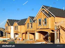 100 Four Houses New Construction Row Stock Photo Edit Now 4633030