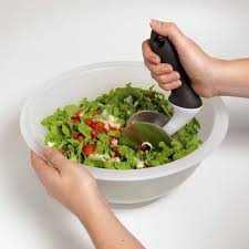 Oxo Over The Sink Colander by Oxo Salad Chopper U0026 Bowl This Two Piece Salad Chopper Set With