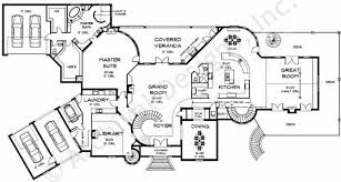 Highclere Castle First Floor Plan by Castle House Plans
