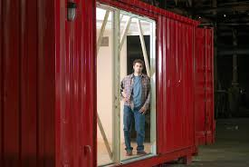 100 Homes Shipping Containers Moving Into A Container But Staying Put The New