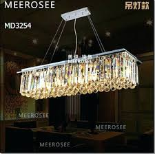 Retractable Ceiling Light Baccarat Chandelier Fixtures For Living Room Dining Hall Fitting