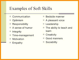 Soft Resume How To Write Skills In Ideas Sample Trainer