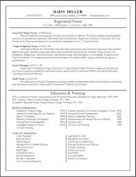 Examples Of Resumes For Graduate School Resume Nursing Application Samples A Sample