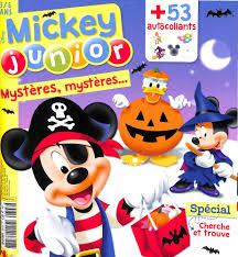 Abonnement Mickey Junior Magazine