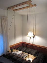 The Tin Shed Furniture Mattress Highland Il by Paracord And Pulley Hanging Table Hanging Table Lofts And Pulley
