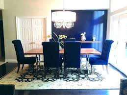 Blue Dining Room Chairs Table Set Navy