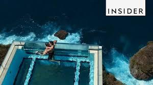 100 Bali Infinity Pool Hangs 500 Feet Above The Ocean