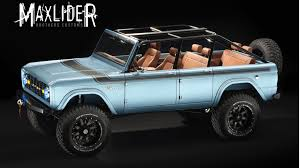 100 Brothers Classic Trucks Maxlider Bros Bringing Big Bad Bronco To SEMA Autoweek