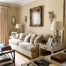 neutral living room decor living room with funky blue couch and