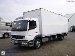100 4x2 Truck MERCEDESBENZ Atego 1318 Closed Box Clutch Problem Closed Box