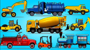 100 Trucks For Toddlers Transport Live Build Car Concrete Mixer Fire Truck