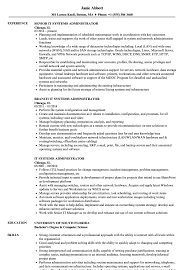 Related Job Titles Linux Systems Administrator Resume Sample
