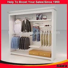 Wooden Wall Shelf Design Clothes Hanger Rack