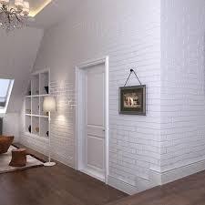 3d dreidimensionale ziegel tapete tv hintergrund blau ziegel weiße ziegel shop wohnzimmer esszimmer schlafzimmer tapete