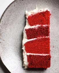 the bitten word velvet cake