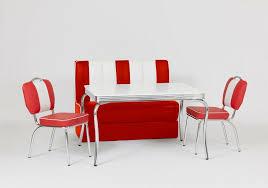 2er set bistrostühle american diner 50er jahre retro rot weiß esszimmerstühle