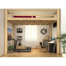 mezzanine chambre adulte rangements fly sureleve pour coucher promotion omalley architecture