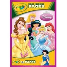 Crayola Disney Princess Giant Colouring Book