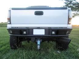 Addictive Desert Design Dimple R Rear Bumper Chevrolet Silverado ...