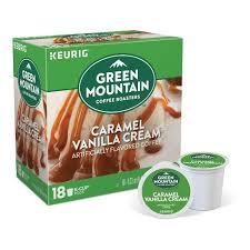Green Mountain Coffee Caramel Vanilla Cream Flavored Medium Roast