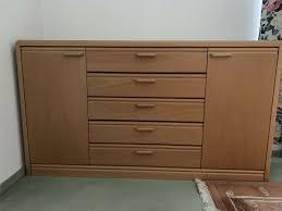 hüslta schlafzimmer kommode massivholz buche