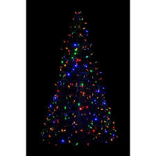 7ft Artificial Christmas Tree With Lights by 7 5 Ft Multiple Colors Pre Lit Christmas Trees Artificial