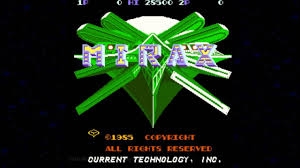 100 Mirax 1985 Current Technology Mame Retro Arcade Games YouTube