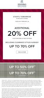 Brooks Brothers Factory Coupons 🛒 Shopping Deals & Promo ... Deal Alert Brooks Brothers Semiannual Sale Treadmill Factory Coupon Code Best Buy Pre Paid Phones Save Money Shopping Online With Gotodaily Brothers Store Oc Fair Free Admission Coupons Online Park N Fly Codes Minneapolis Dell Refurbished Computers 12 Hour 50 Off Flash Credit Card Login Kids Recliners At Big Lots Perpay Promo 2019 Beoutdoors Discount Creme De La Mer Depend Underwear Printable Getmodern Promo Brooks Active Deals 15 Off Brother Designs
