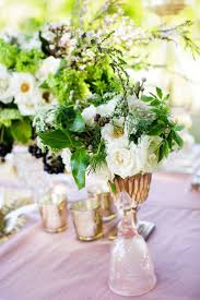 Garden Inspired Vintagewedding Centerpiece By Passion Roots