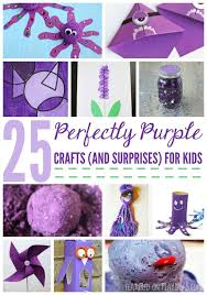 25 Perfectly Purple Crafts And A Few Surprises For Kids
