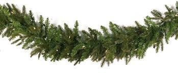 9 Fraser Fir Artificial Christmas Tree by Artificial Christmas Garland Fraser Fir Trutip Pe Pvc Unlit