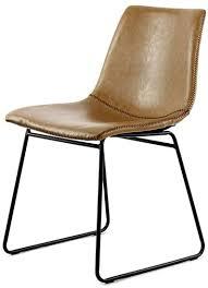 stuhl industrial leder look retro esszimmerstuhl 2er set