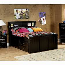 Aerobed 18 With Headboard by Full Storage Bed With Bookcase Headboard 19 Low Water Pressure