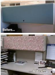 Cute Ways To Decorate Cubicle by Diy Desk Glam Give Your Cubicle Office Or Work Space A Makeover