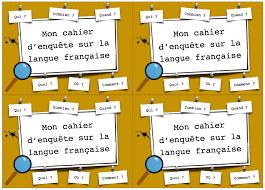 Page De Garde Cahier De Français