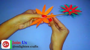 Paper Cutting Flowers Step By