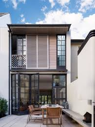 100 Row Houses Architecture Bougainvillea House Luigi Rosselli Architects