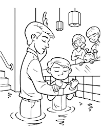 Coloring Pages Alluring Baptism Coloring Page 1000 Images About