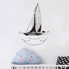 Sailboat Wheel Wall Decor by Compare Prices On Nautical Decals Online Shopping Buy Low Price