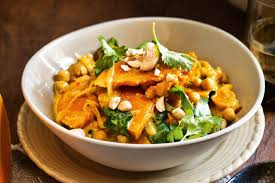 Cinderella Pumpkin Seeds Australia by Pumpkin And Chickpea Curry