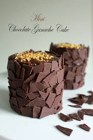 Mini Chocolate Ganache Cakes