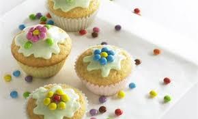 blümchen muffins für kinder