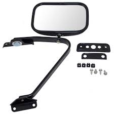 100 Side View Mirrors For Trucks Manual Mirror 5x8 Swing Lock W Plastic Housing