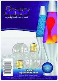 Spencers Gifts Lava Lamps by Lava The Original Lamp 25 Watt Replacement Bulb 2 Pack