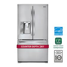 48 Cabinet Depth Refrigerator by Lg Counter Depth Refrigerators With Large Capacity Lg Usa
