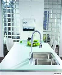 plan de travail cuisine en verre plan de travail de la cuisine quel matériau choisir travaux com