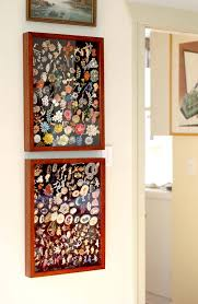 Grouping Like Objects In A Shadow Box Is Nice Way To Display Collections Without Having Your Space Feel Too Cluttered