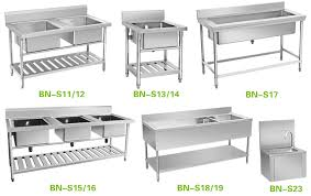 Stainless Steel Fish Cleaning Station With Sink by Stainless Steel Kitchen Tables Used Roselawnlutheran